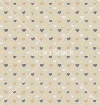 Free seamless hearts pattern vector - Kostenloses vector #243459