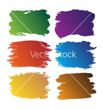 Free brush blot vector - Free vector #243479