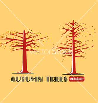 Free trees silhouettes vector - Kostenloses vector #243489