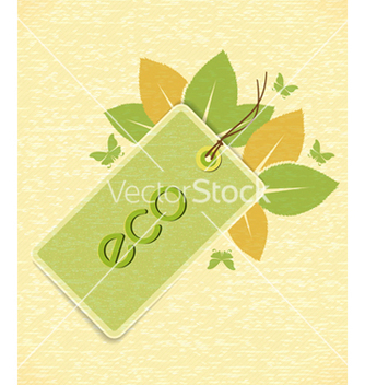 Free eco friendly design vector - Kostenloses vector #243529