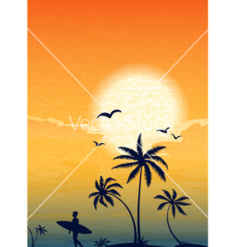Free summer background vector - Free vector #243559