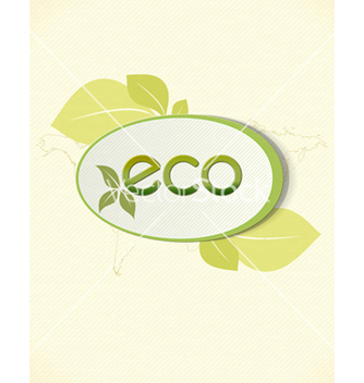 Free eco friendly design vector - Kostenloses vector #243599