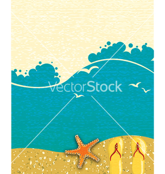 Free summer background vector - Free vector #243629
