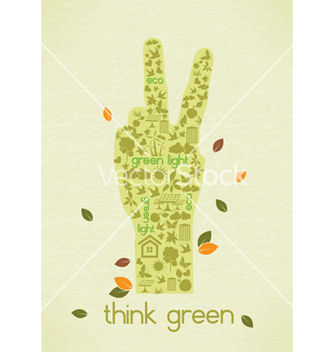 Free eco friendly design vector - Kostenloses vector #243639