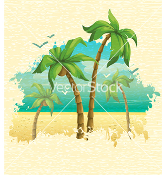 Free summer background vector - Free vector #243689