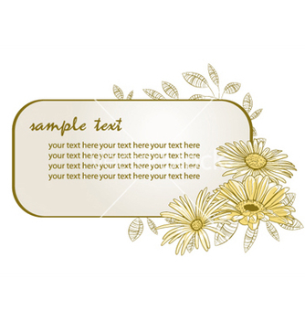 Free floral frame vector - Kostenloses vector #243959
