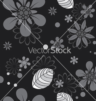 Free abstract seamless floral background vector - Kostenloses vector #244029