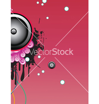Free concert poster with speaker vector - Free vector #244089