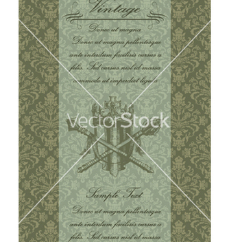 Free vintage background vector - Free vector #244609