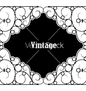 Free wrought iron sign vector - vector #244779 gratis