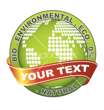 Free environmental label vector - Kostenloses vector #244889