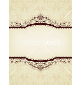 Free elegant vintage background vector - vector gratuit #245339