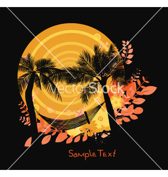 Free summer background vector - Free vector #245979