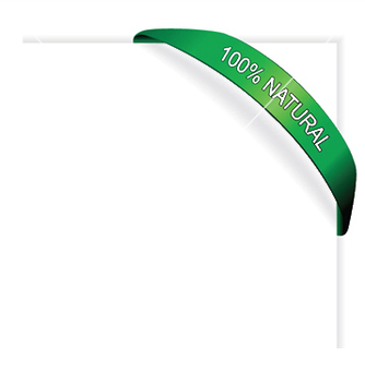 Free green banner with paper vector - vector #246089 gratis