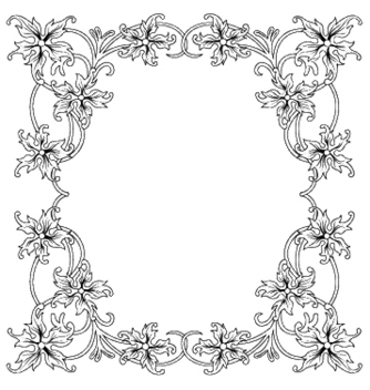 Free floral frame vector - Free vector #246289