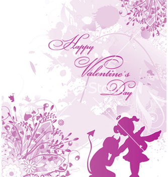 Free valentines day card vector - Free vector #247229