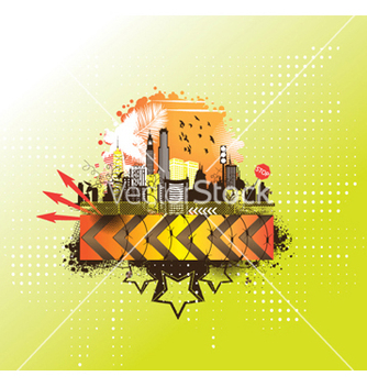 Free urban background vector - vector #247469 gratis