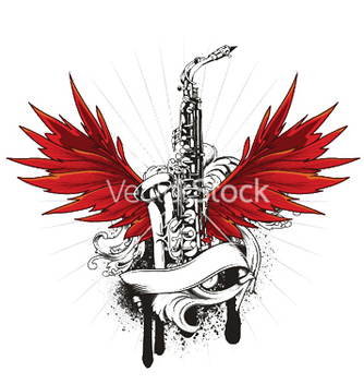 Free music emblem vector - Free vector #247549