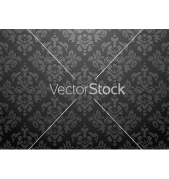 Free damask seamless pattern vector - vector gratuit #247619