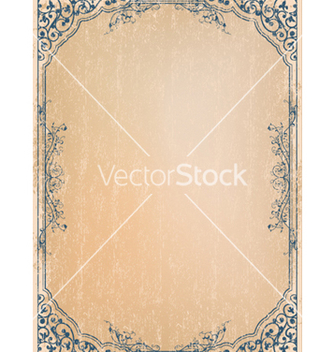 Free retro grunge frame vector - Free vector #247719