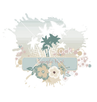 Free grunge summer vector - Free vector #248809