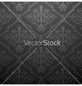 Free damask seamless pattern vector - Kostenloses vector #249089
