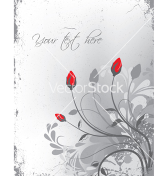 Free grunge floral background vector - Kostenloses vector #249409