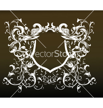Free baroque floral ornament vector - бесплатный vector #249589
