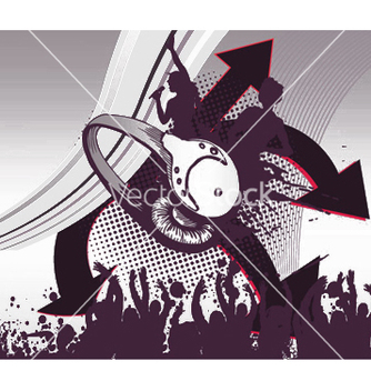 Free music poster vector - Free vector #250029