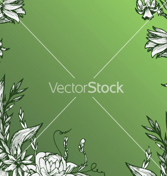 Free vintage floral background vector - Free vector #250049