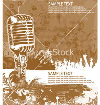 Free concert poster vector - Free vector #250089