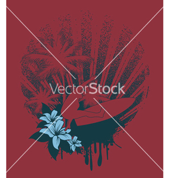 Free summer tshirt design vector - бесплатный vector #250279