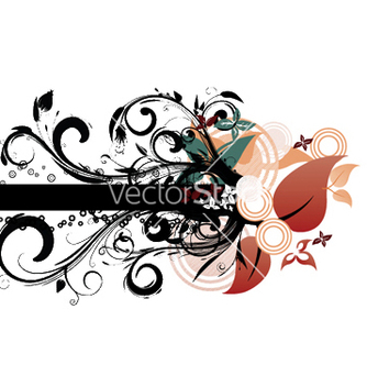 Free spring floral background vector - Free vector #250399