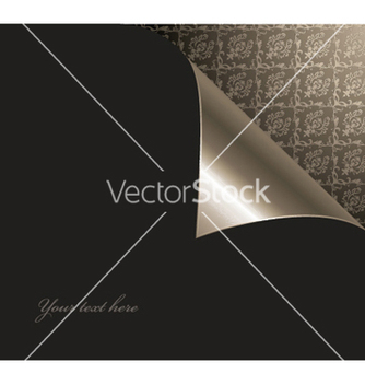 Free damask floral background with corner vector - vector #250689 gratis