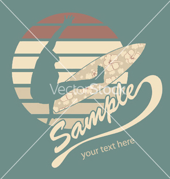 Free summer tshirt design vector - бесплатный vector #250739