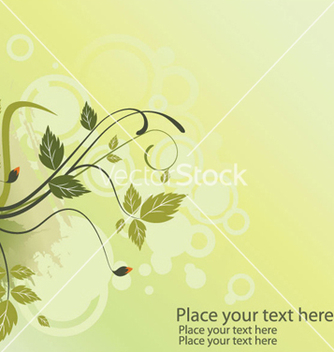 Free vintage floral background vector - vector gratuit #250949