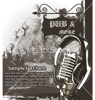 Free concert poster vector - Free vector #251129