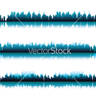 Free three panorama cities vector - vector #251459 gratis