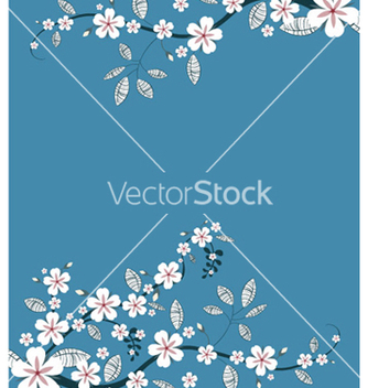 Free spring floral background vector - Free vector #251469