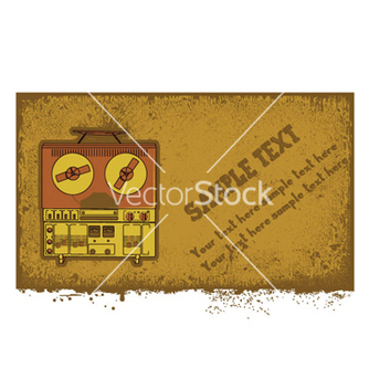 Free music background vector - vector #251579 gratis