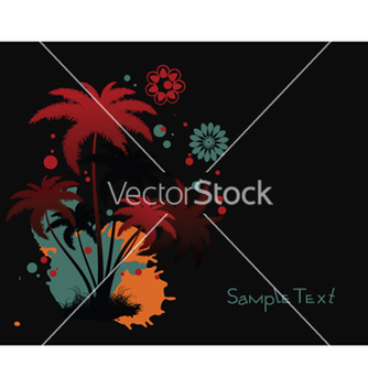 Free summer floral background vector - vector gratuit #252419