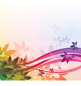 Free watercolor floral vector - бесплатный vector #252729
