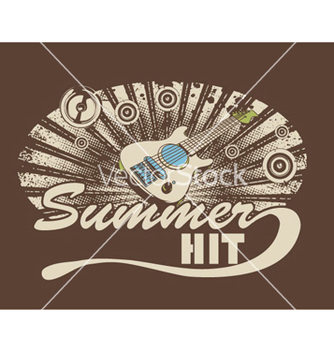 Free music tshirt design vector - бесплатный vector #252849