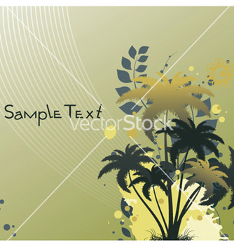 Free summer floral background vector - Free vector #253069