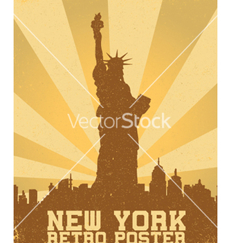 Free retro new york background vector - vector gratuit #253079