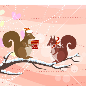 Free christmas greeting card vector - Kostenloses vector #254159