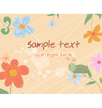 Free abstract floral background vector - Kostenloses vector #254639