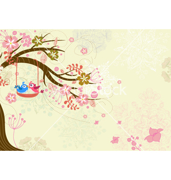 Free love birds vector - vector #254679 gratis