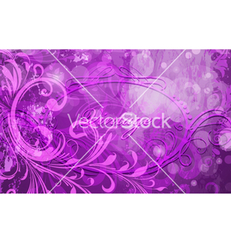 Free abstract floral background vector - Free vector #254769