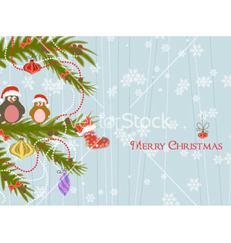 Free christmas background vector - Kostenloses vector #254829